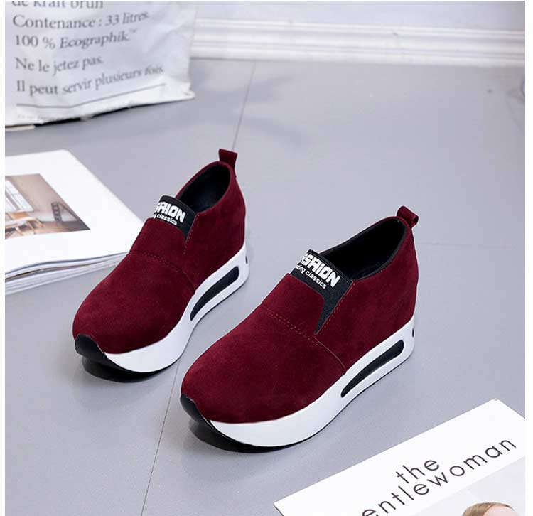 Vulcanize shoes women casual shoes 2019 new fashion solid pu women sneakers slip-on breathable shoes woman zapatos de mujer (1)
