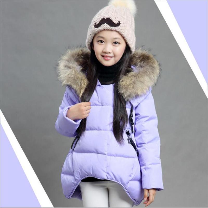 Winter JACKETS GIRLS Children Clothes made of goose feather Kids JACKET COAT Girls Park Clothes Children Winter Overalls JACKET children of rhatlan