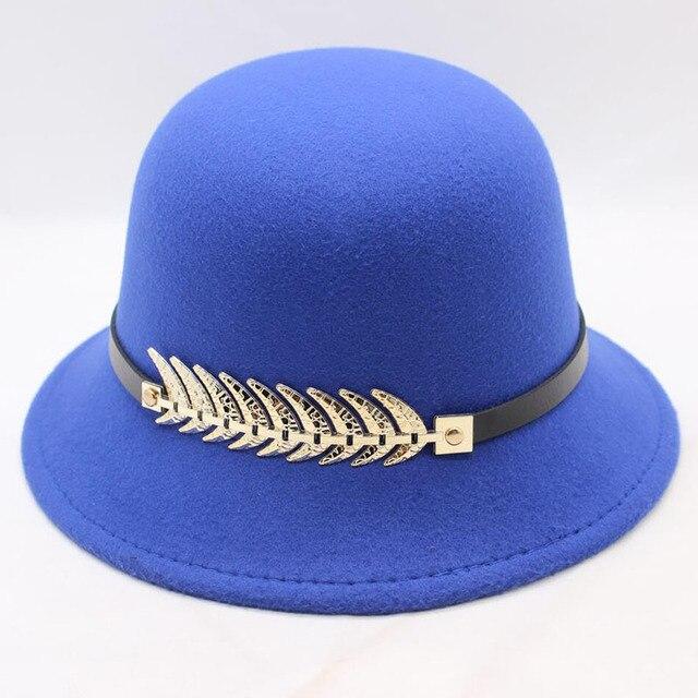 Royal blue Womens fedora 5c64fe1e6a167