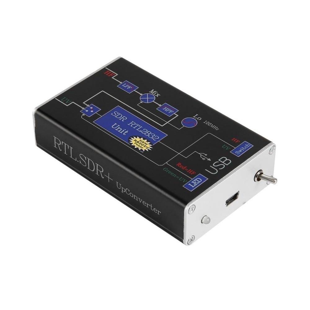 New 100KHz-1.7GHz Full Band RTL.SDR + UpConverter Wide SDR Receiver DBM HF UHF VHF Radio Ham Software Defined Radio 100khz 1 7ghz full band rtl sdr upconverter wide sdr receiver dbm hf uhf vhf radio ham software defined radio