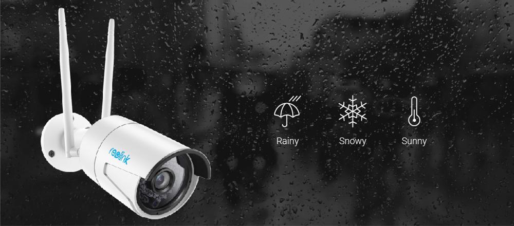 reolink как Wi-Fi интернет камера 4мп 2.4 г/5 г высокой четкости и IP камеры с SD карты памяти беспроводное уличное видеонаблюдение водонепроницаемое безопасности рлк-410ws