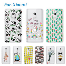 Горячая Печатных Soft Phone Case Для Xiaomi Redmi Note 4 Pro Простые силиконовые ТПУ Обложка Case Для Hongmi Redmi Note Pro 4 Премьер 5.5″