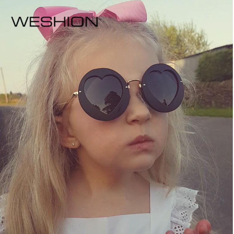 61383499fc Benesse high quality Sunglasses 2018 polarized girls sunglasses Brand  designer kid pink sunglasses heart shaped sunglasses