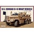 OHS Meng SS005 1/35 EUA 6x6 Veículos MRAP Puma Militar Plástico AFV Kits Modelo de Construção
