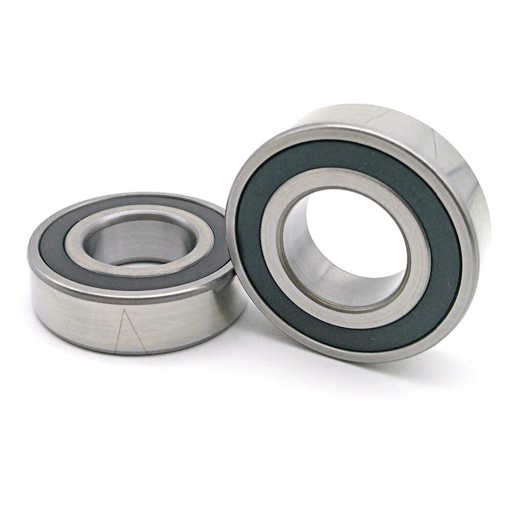 1 pair MOCHU 7207 7207C 2RZ P4 DB B 35x72x17 Sealed Angular Contact Bearings Speed Spindle