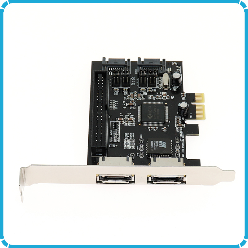 PCI-e PCI Express Controller Card IDE SATA eSATA Internal External Raid Adapter
