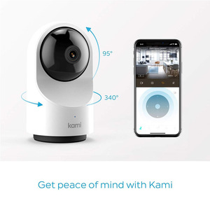 Image 2 - Kami Full HD Wifi Indoor Security Camera, 1080P IP Cam Motion Tracking Home Monitor System Privacy Mode 6 months Free Cloud