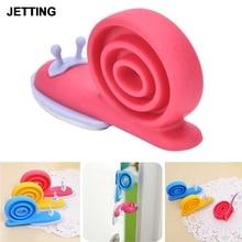 Cute Kawaii EVA Plastic Baby Safety Door Stopper Protector Children Kid Safe Snail Shape Stops Care Random Color