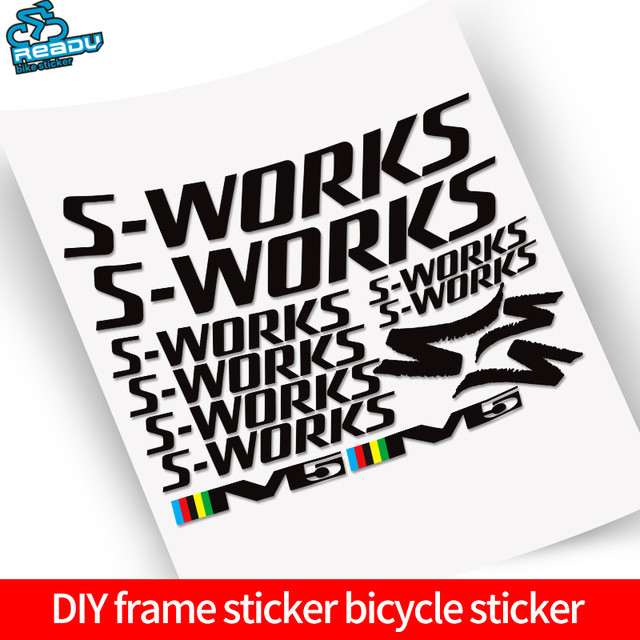 1 Set Vinyl Bicycle Stickers Carbon Road Frame Sticker Trial Frame Tubes Stickers1 Set Vinyl Bicycle Stickers Carbon Road Frame Sticker Trial Frame Tubes Stickers