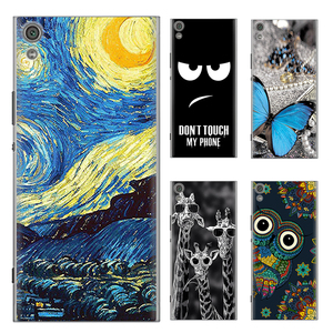 Phone Case For Sony Xperia XA1 Ultra 6-inch Cute Cartoon High Quality Painted TPU Soft Silicone Skin Back Cover