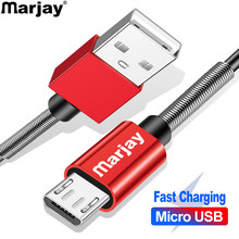 Marjay Micro USB Cable Fast Charging USB Cable For Samsung S7 Xiaomi Huawei LG HTC Android Microusb USB Data Charger Cable цена в Москве и Питере