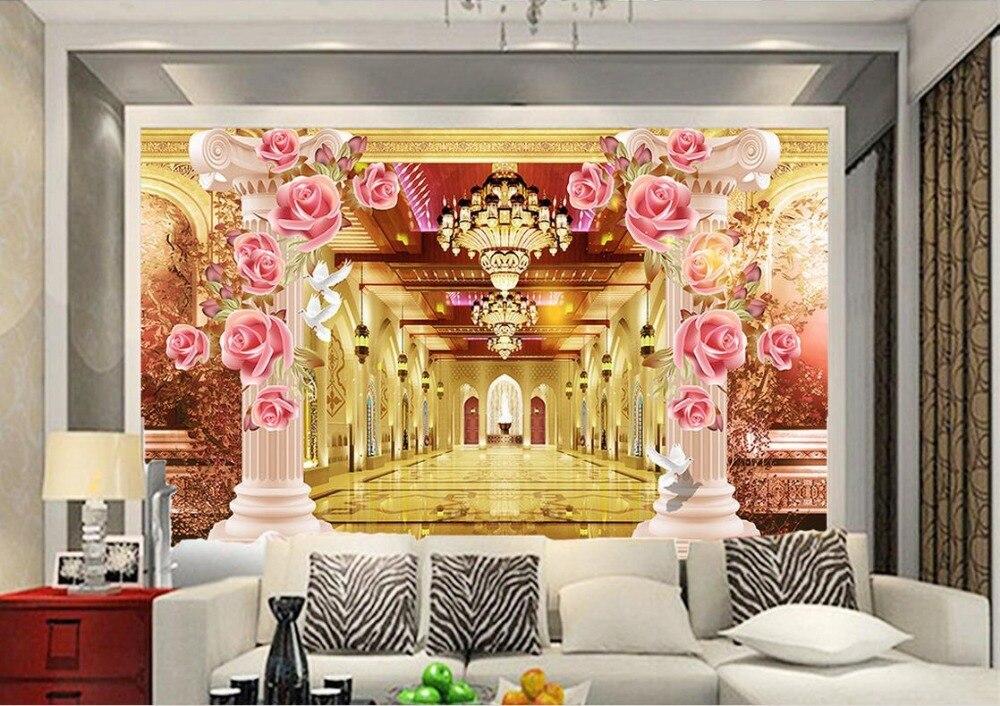3d background 3d stereoscopic wallpaper Custom wall murals 3d ...