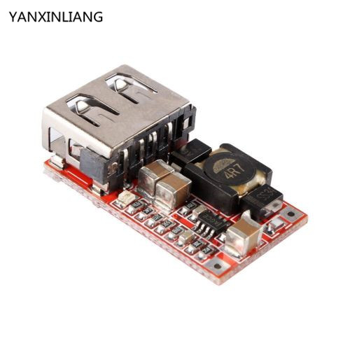 1PCS 6-24V 12V/24V to 5V 3A CAR USB <font><b>Charger</b></font> Module DC <font><b>Buck</b></font> step down Converter usb connector dc-dc power supply module