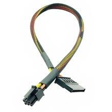 HDD SSD 電源デルの Vostro 3668 3667 3650 SATA ハードディスク電源 SATA に 6Pin インタフェースアダプタ変換ケーブル