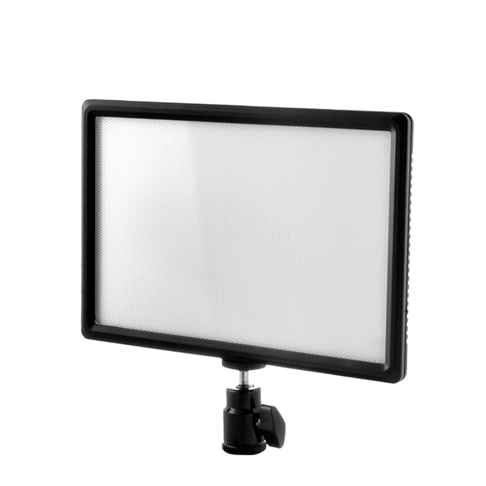 Luminosité réglable LED panneau de lumière vidéo professionnel lampe de remplissage de caméra pour stylo Laser lampe de poche LED support de batterie de cellule