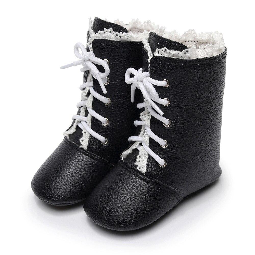 Toddler Infant Newborn Baby Boys Girls Crib Winter Boots Prewalker Martin Shoes