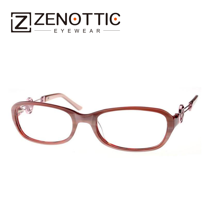 ZENOTTIC 2018 New Design Fashion Eyeglasses Frame Women Lady Style - Apparel Accessories - Photo 2