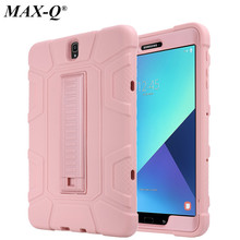 For Samsung Galaxy Tab S3 Case 9.7inch Tablet T820 Drop resist Hybrid Armor PC Silicone Skin Cover for Galaxy Tab S3 9.7 SM-T825