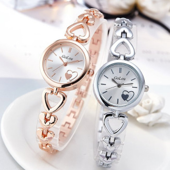 цена на Top Brand Rose Gold Watch Women Luxury Stainless Steel Bracelet Wrist Watches Woman Fashion Clock Ladies Quartz Watch relogio