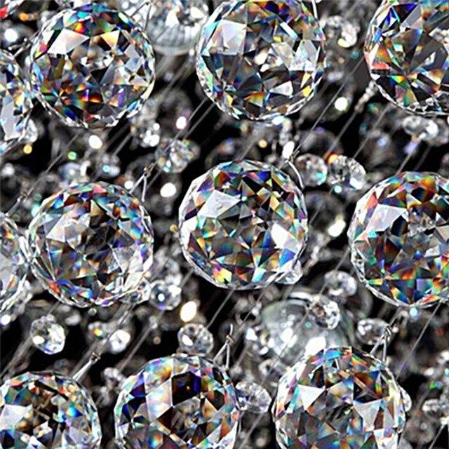 Прозрачный 20 мм светящийся шар Suncatcher стеклянные хрустальные призма люстра с ХРУСТАЛЬНЫМИ ЭЛЕМЕНТАМИ подвесной кулон Approx.2cm/0.8in
