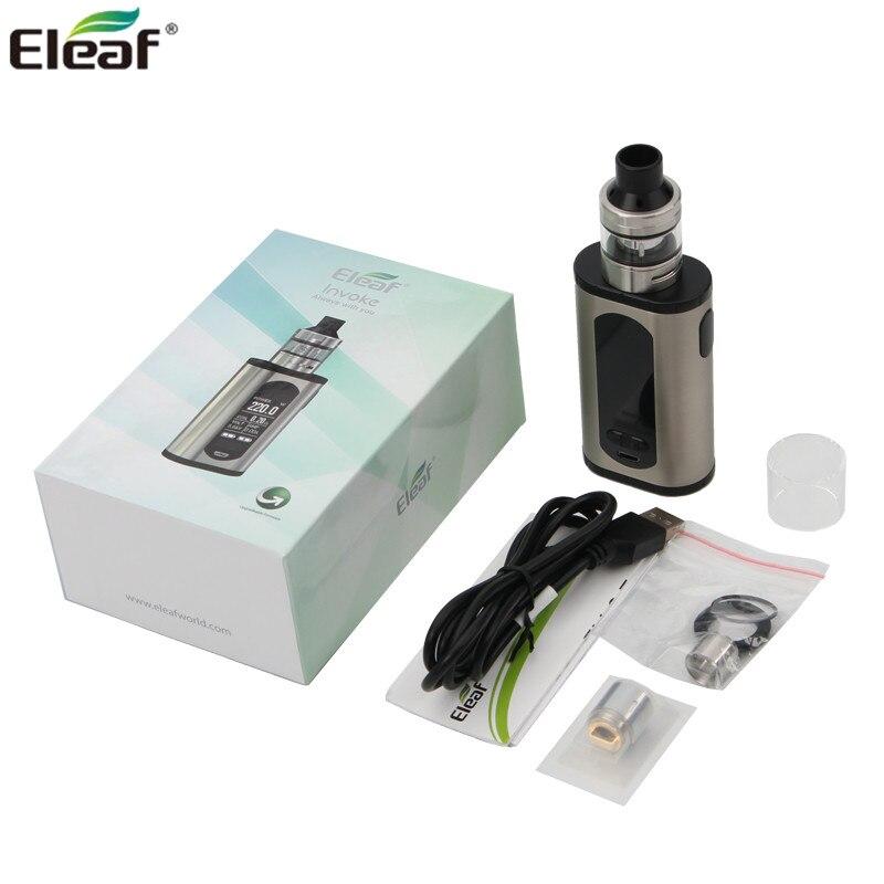 Originale Electonic Sigarette Eleaf Richiamare Kit Richiamare Mod Box 220 w con ELLO T Serbatoio 2 ml/4 ml eleaf Vaporizzatore elektronik sigara