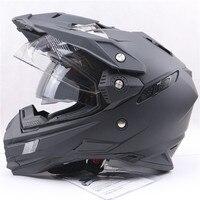 THH ống kính đôi Off Road Mũ Bảo Hiểm chuyển đổi full mặt đua đội mũ bảo hiểm ống kính đôi xe máy mũ bảo hiểm DOT ECE Được Chấp Thuận đội mũ bảo hiểm