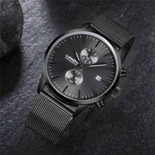 Zegarek męski Liandu czarny