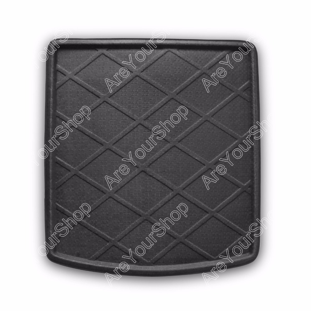 Car Auto Boot liner Cargo Mat Tray Rear Trunk Sticker For Audi A4/S4/RS4 Sedan 2002-2008 1PCS High Quality Car Accessory Covers car rear trunk security shield cargo cover for volkswagen vw tiguan 2016 2017 2018 high qualit black beige auto accessories