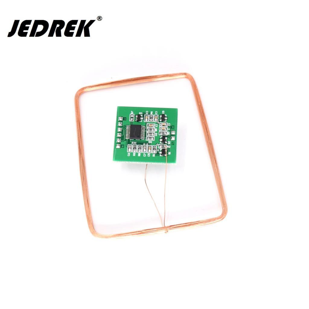 10PCS 125KHz RFID EM4100 T5557 EM4305 Chip Card Reader Writer Module Read Write Page Block Data TTL Rs232