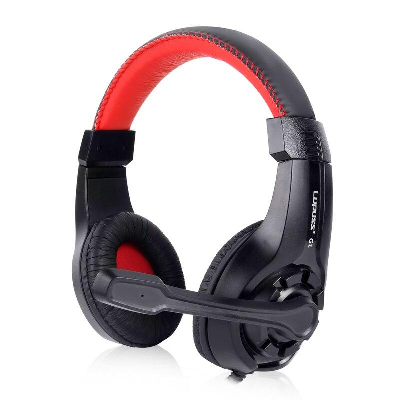 LUPUS G1 Ajustable 3.5mm Deporte Juego de Auriculares Juego - Audio y video portátil