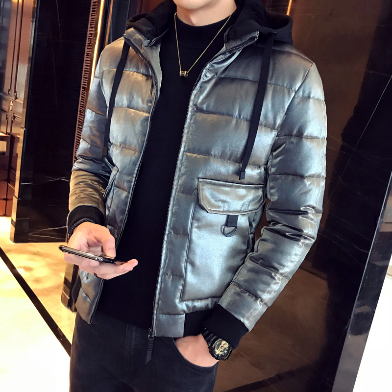Men's Clothing Fashion Mens Winter Warm Hooded Padded Coat Youth Cotton Jacket Thick Down Parka Fashion Youth Keep Warm Men Vest Winter Jacket Vests & Waistcoats