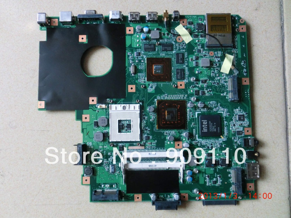 N50VN non-integrated motherboard for a*sus laptop N50VN full test