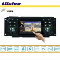 Liislee Car Radio For Jeep Wrangler 2003~2006 GPS Nav Navi Map Navigation Stereo BT Audio Video CD DVD Player Multimedia System