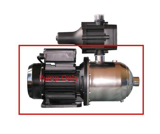 Pompe centrifuge à plusieurs étages d'acier inoxydable avec la pompe auto-amorçante de Jet CBM404 220 V ~ 50 hz