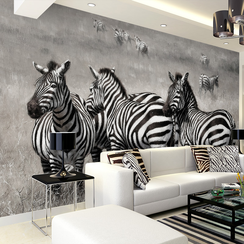 Online Get Cheap Zebra Bedroom Wallpaper -aliexpress.com | Alibaba ... Schlafzimmer Zebra