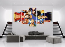 One Piece Characters HD Print Canvas Painting
