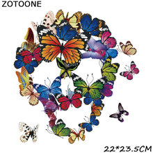 ZOTOONE  applique iron on transfers for clothing patch diy Hot transfer ironing 3D Handmade Stick-On Clothes stickers