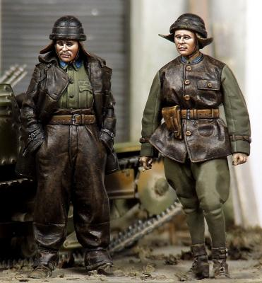 pre order-Resin toys 35051 Hungarian panzer crew Free shipping pre order resin toys 35031 ciao maria free shipping