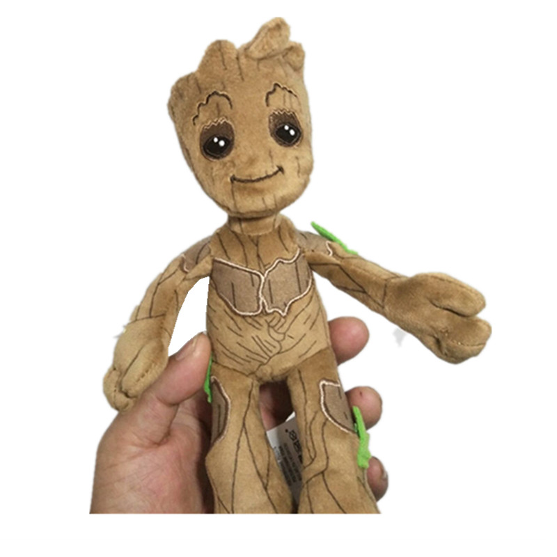 Guardians of The Galaxy Vol 2 Baby Groot Rocket Raccoon Plush Dolls Toy Kid Gift