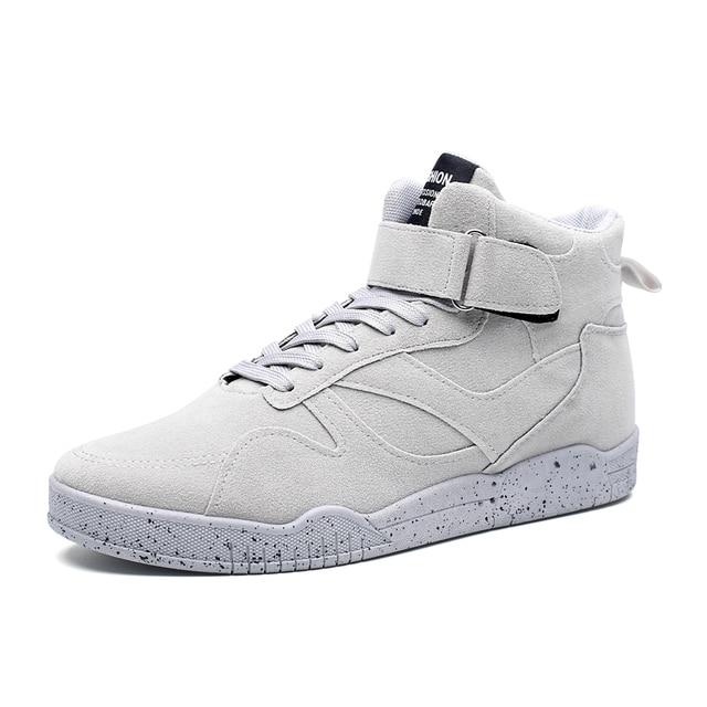 2016 Homens Sapatos Da Moda Sapatos Ankle Boots Outono Inverno Sapatos de Couro Botas Dos Homens Sapatos Casuais Homem Sapatos Hombre Tamanho 39-44