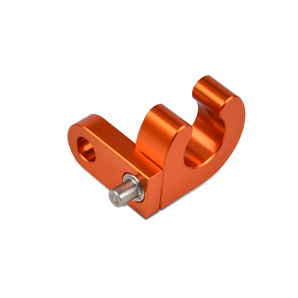 H2CNC Rear Brake Line Cable Clamp Holder Hose For KTM 125 200 250 300 360 380 400 450 520 525 620 625 EGS EXC EXE SXS MXC XCW