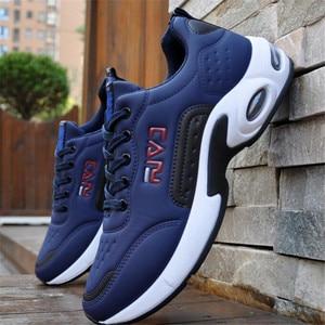 Image 3 - Elgeer primavera e outono nova temporada selvagem estudante almofada de ar moda sapatos masculinos sapatos esportivos casuais não deslizamento sapatos masculinos