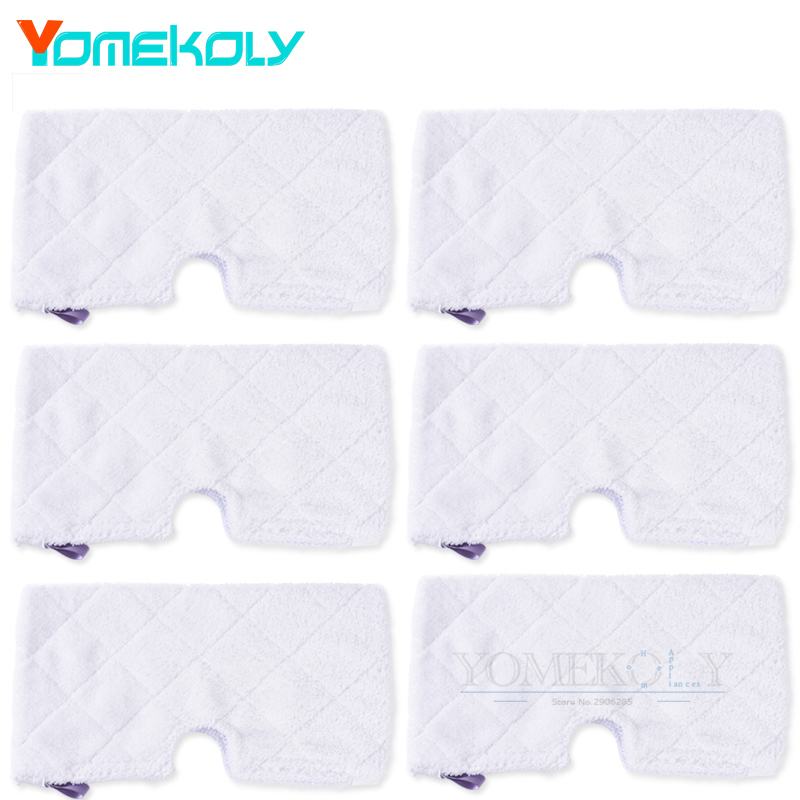 Vacuum Cleaner Mop Pads for Shark S3500 series S3601 S3901 Steam Mop Pocket Washable Replacement Cleaning Microfiber Pads 4 pcs white microfibre steam mop cleaning floor washable replacement pads compatible for x5 h20 series dust cleaner part