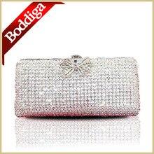 Diamant Braut Abendtasche High Grade Voller Eva Clutch Gold und Schwarz Clutch Bag Hochzeit Handtasche #80302