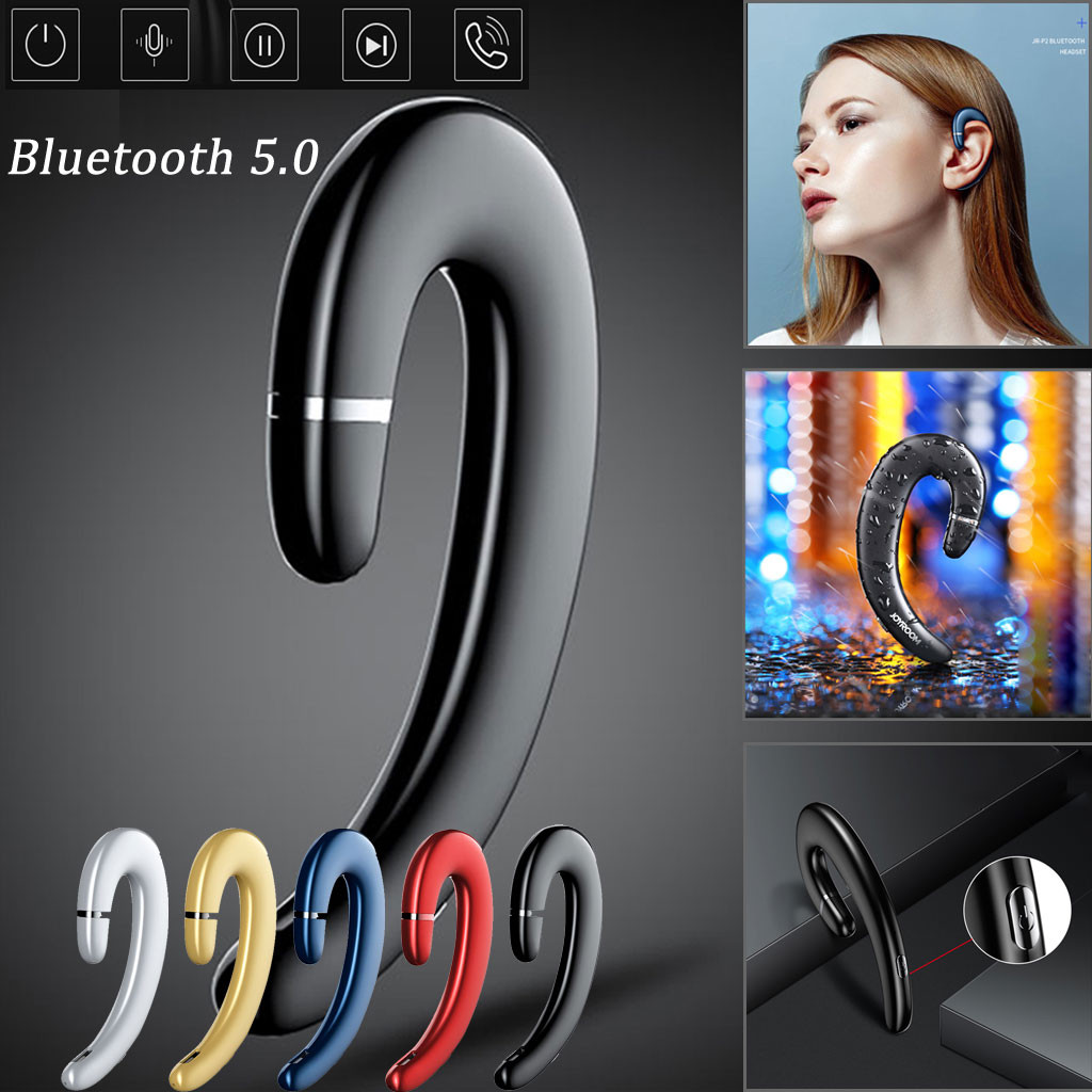 New true wireless Bluetooth headset P5 bone conduction Bluetooth 5.0  headset wireless sports headset with microphone call new-in Bluetooth  Earphones & Headphones from Consumer Electronics on AliExpress