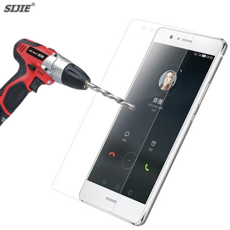 SIJIE 9 H Vidro Temperado para Huawei lite Protetor de Tela de Proteção filme Ultrafino para G9 P9 P9 mini 5.2 polegada 146.8*72.6*7.5mm