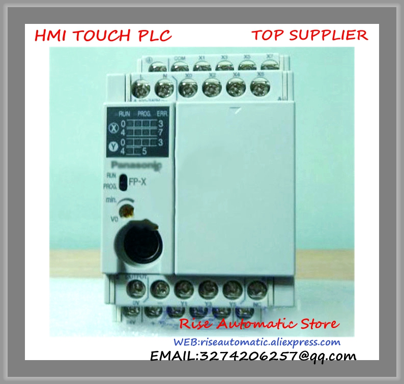 AFPX-C14T PLC New Original AC100-240V 8 DC input points 6 NPN output points FP-X Control Unit
