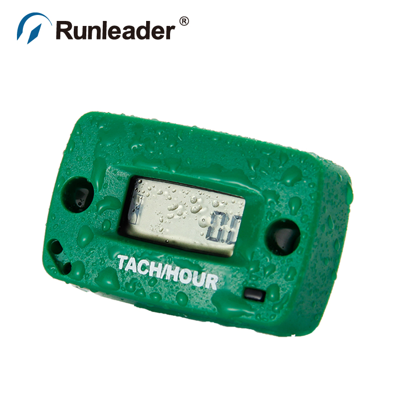LCD Tach/Hour Meter for Motorcycle ATV Snowmobile Boat Generator truck outboard motor OH ...