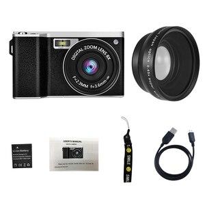 Image 2 - X9 4 Inch Ultra Hd Ips Press Screen 24 Million Pixel Mini Single Camera Slr Digital Camera