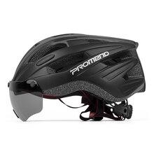 Riding Cycling Goggles Helmet Men Women Sports Bike Safety Lens Helmets Racing Breathable Ski MTB Road Equipment